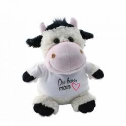 Peluche Vache à personnaliser avec photo ou Texte