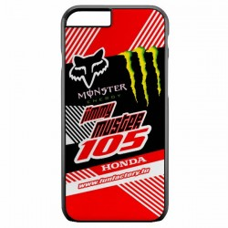 Coque motocross X-Treme1 rouge
