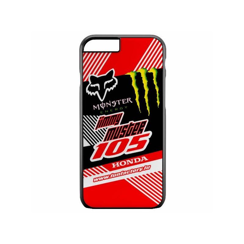 Coque iphone personnalisée motocross,insérez votre Nom,Numero,Prénom