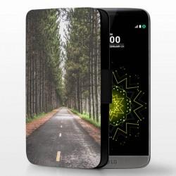 étui cuir personnalisé LG G5