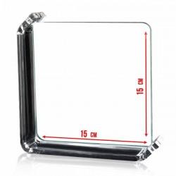Photo sur verre 15x15cm