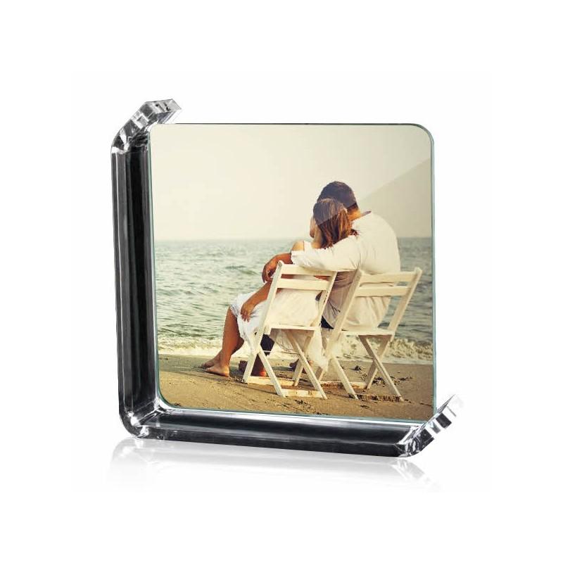 Photo sur verre 12x12cm