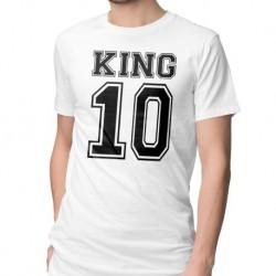 T-SHIRT KING&QUEEN personnalisé