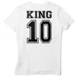 T-SHIRT KING QUEEN basic
