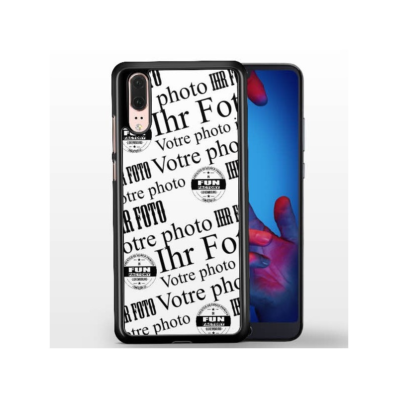 huawei p20 coque silicone personnalisée