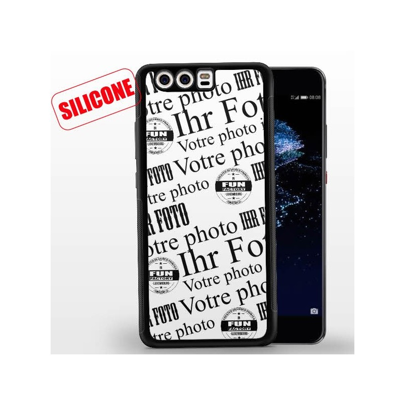 huawei p10 coque silicone personnalisée