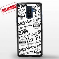 coque silicone galaxy A6 plus