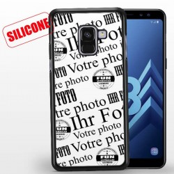 galaxy A8 (2018) coque silicone