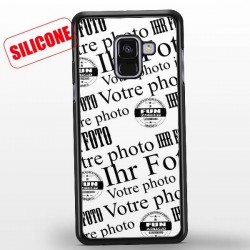 coque silicone galaxy A8 (2018)