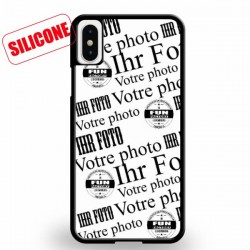 coque silicone personnalisé iphone XS