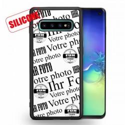 Galaxy S10 Silikon Handy Hülle selbst gestalten