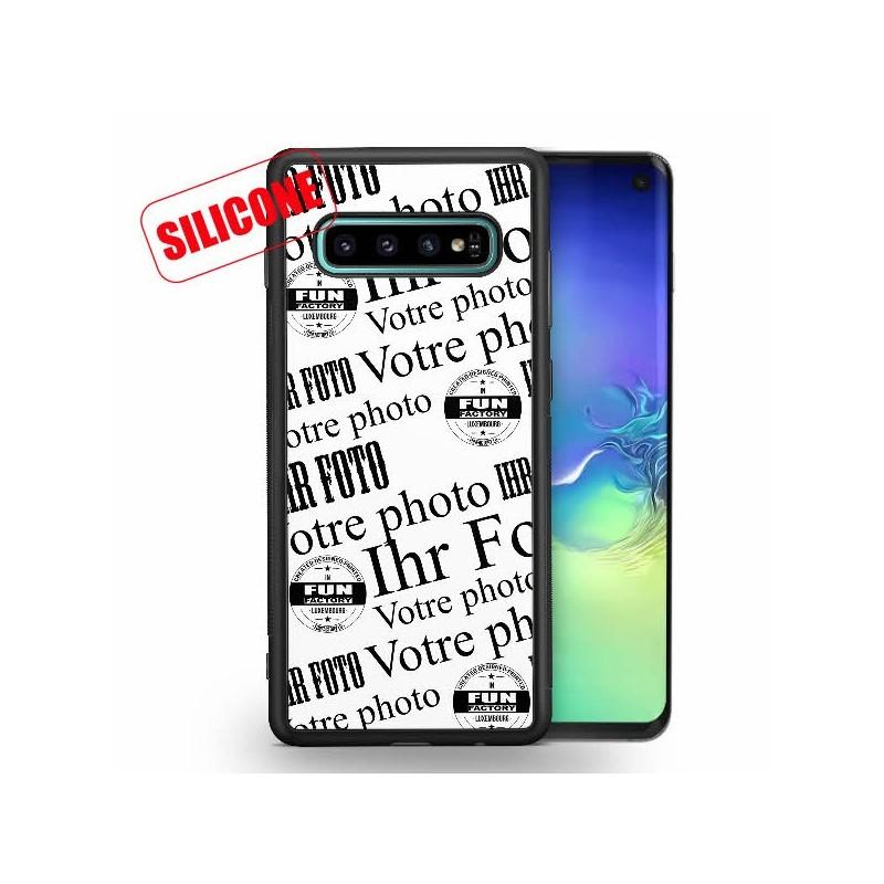galaxy s10 coque silicone personnalisée