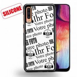 coque silicone personnalisé galaxy A50