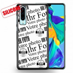 huawei p30 coque silicone personnalisée