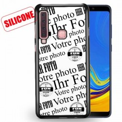 galaxy A9 (2018) coque silicone