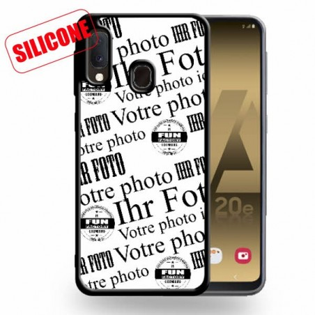 coque silicone galaxy A20E (2019)