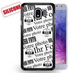 galaxy J4 coque silicone personnalisée