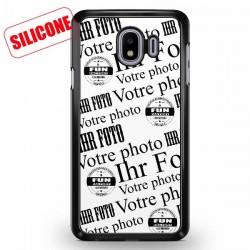 coque silicone personnalisé galaxy J4
