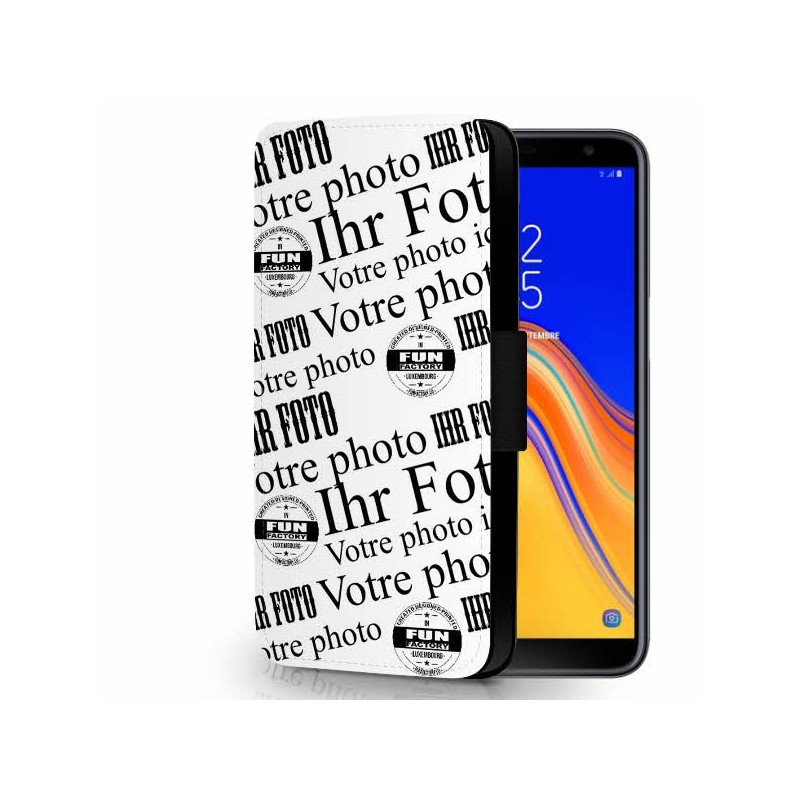 Galaxy J6 Plus Klappcover gestalten