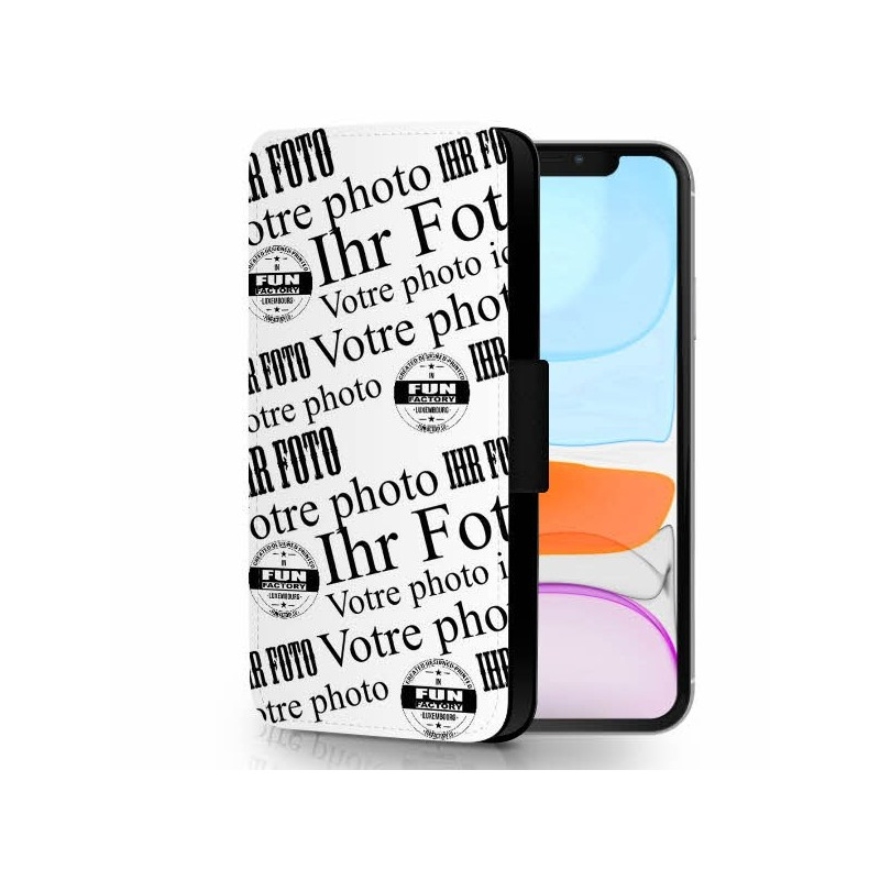 iphone 11 étui-cuir personnalisé