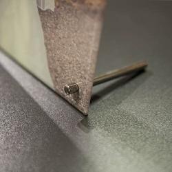 Photo sur verre contour mirroir
