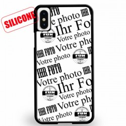 coque silicone personnalisée iphone X