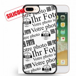 iphone 8 plus coque silicone personnalisée