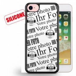 iphone 7 coque silicone personnalisée