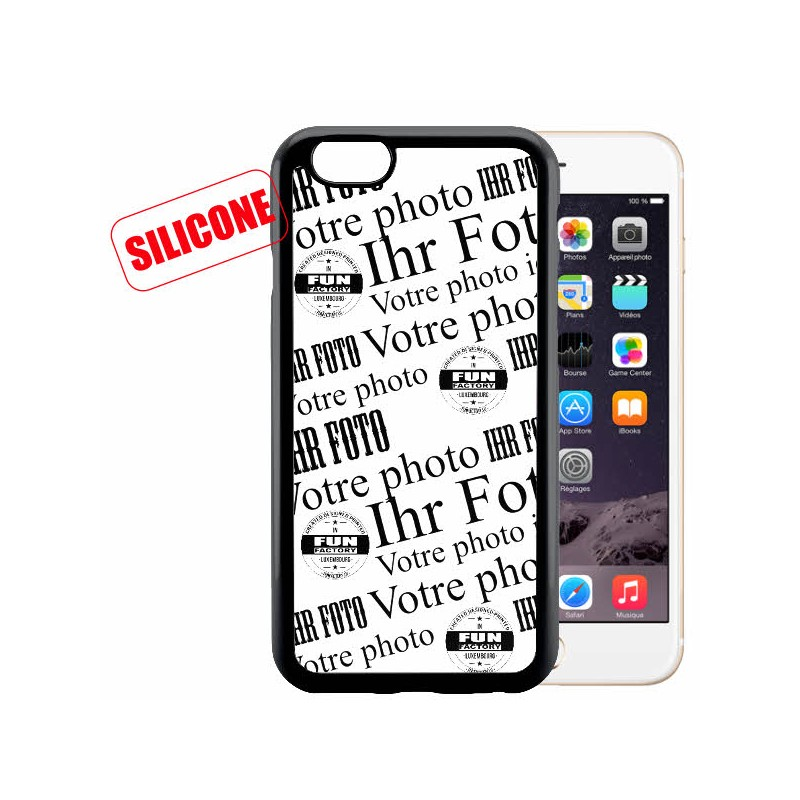 iphone 6 / 6S coque silicone personnalisée