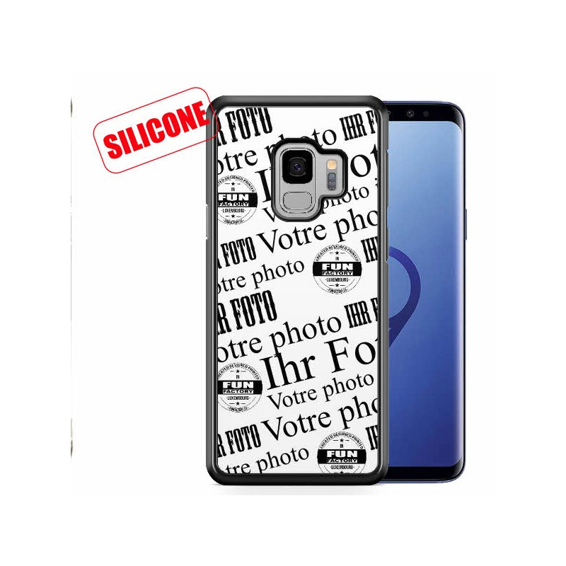 galaxy s9 plus coque silicone personnalisée