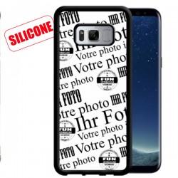 galaxy s8 coque silicone personnalisée