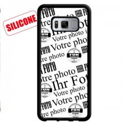 coque silicone avec photo galaxy S8