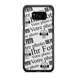 coque silicone avec photo galaxy S8 plus