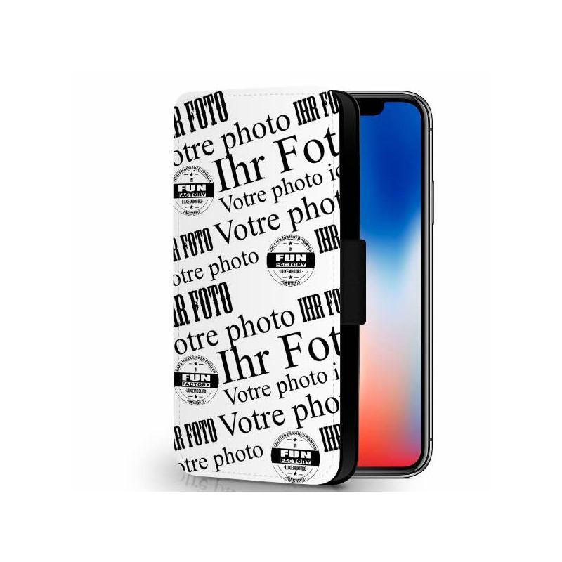 iphone X étui-cuir personnalisé