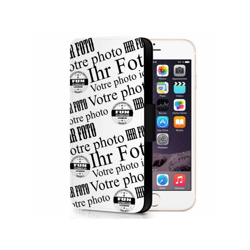iphone 6 / 6S plus étui cuir personnalisé