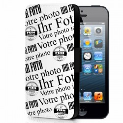 IPhone 5-5S - Kunstleder Handy Hülle selbst gestalten