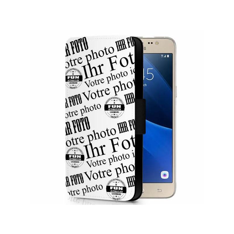 Galaxy J5 Flipcase Hülle gestalten