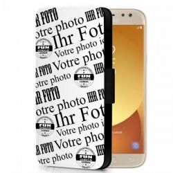 éui-cuir personnalisé Galaxy J5-2017
