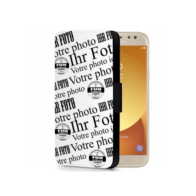 Galaxy J5 (2017) klappbares Cover gestalten