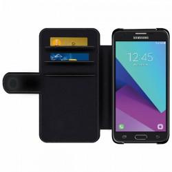 Galaxy J3 étui cuir personnalisé