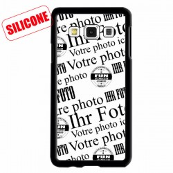 coque silicone avec photo galaxy A3
