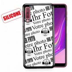 galaxy A7 (2018) coque silicone