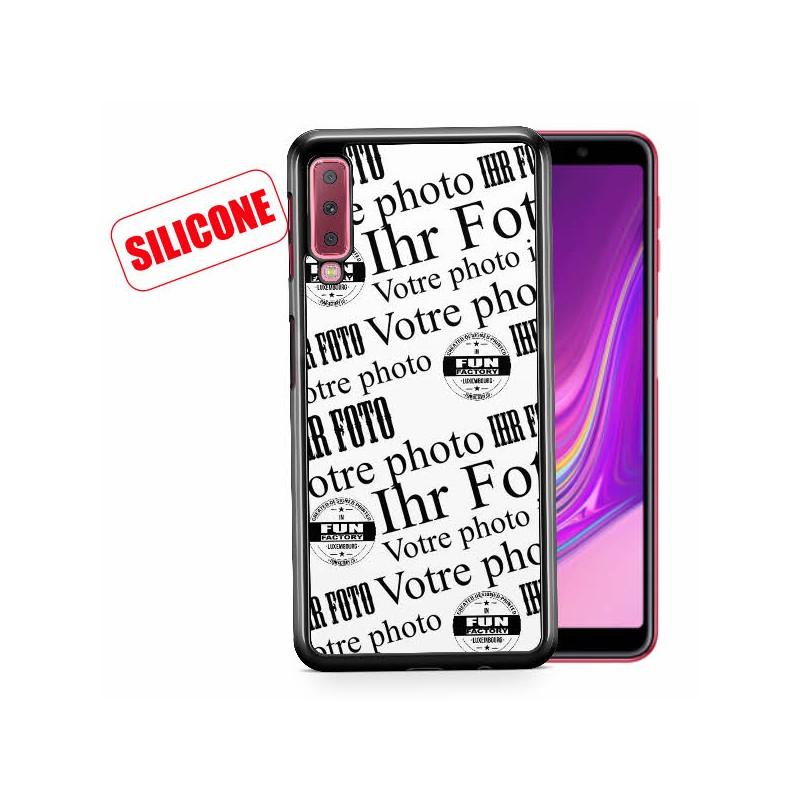 galaxy A7 (2018) coque silicone