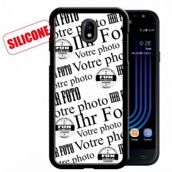 Galaxy J3 (2017) Silikon Handy hülle personalisieren