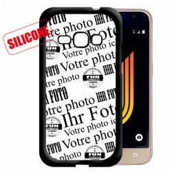 galaxy J1 2016 coque silicone personnalisée