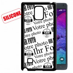 coque silicone personnalisée Note4