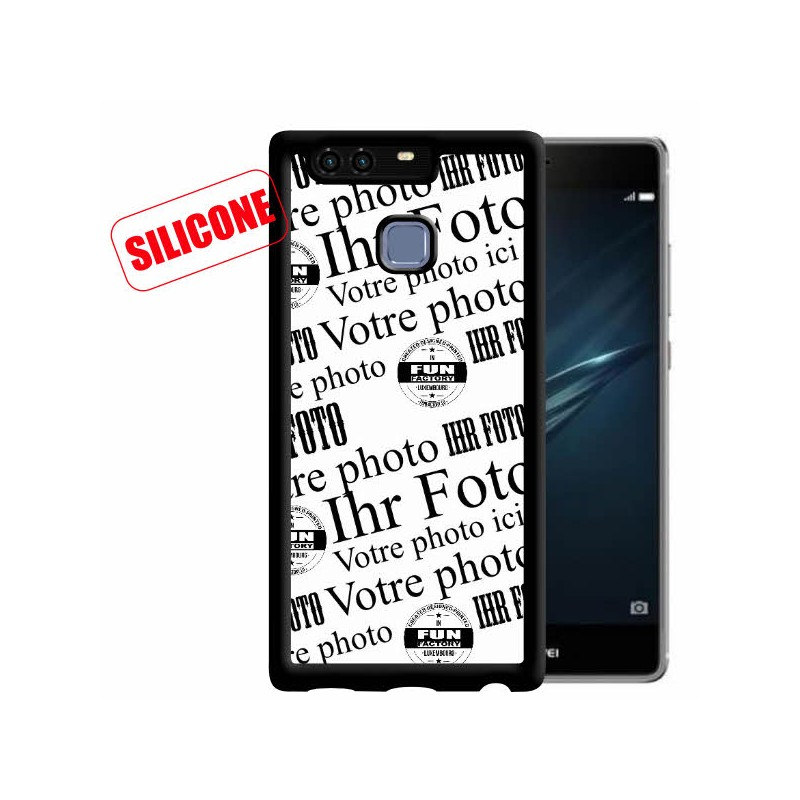 huawei p9 coque silicone personnalisée