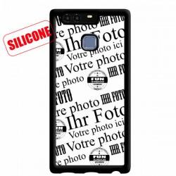 silikon Hülle mit Foto Huawei P9