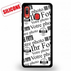 galaxy A20 coque silicone
