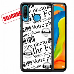 coque silicone personnalisée  Huawei p30lite